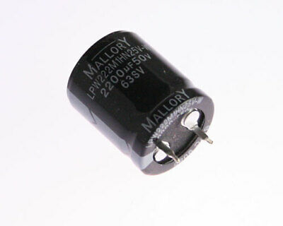 Xicon 2200uF 25V 105°C Radial Lead Electrolytic Capacitors Great Price 10//Pack