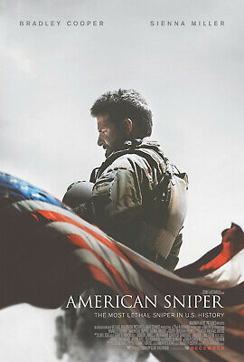 AMERICAN SNIPER FILM Poster    A4 A3 & A3+ Sizes Laminated   HD Print   MOVIE
