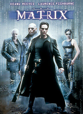 THE MATRIX Poster    A4 A3 & A3+ Sizes Laminated   HD Print   KEANU REEVES