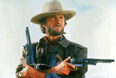 CLINT EASTWOOD Poster    A4 A3 & A3+ Sizes Laminated   HD Print   MOVIE ACTOR