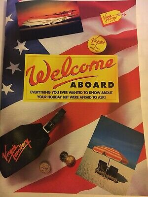 Virgin Holidays Welcome Aboard Book 2002