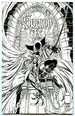 Spawn #300 B&W Variant Cover N Campbell McFarlane Image Comic 1st Print 2019 NM