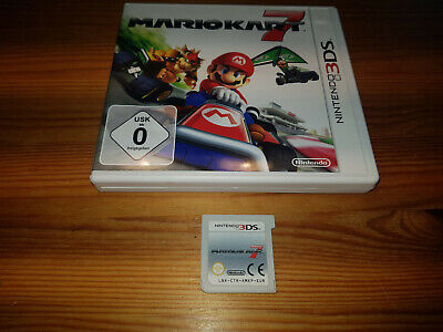 Nintendo 3DS Spiel Mario Kart 7 in OVP dt. Version Top !