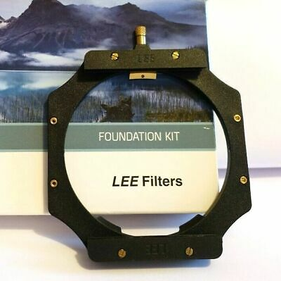 Lee Filters Foundation Kit 100mm In Excellent Condition + 72mm adapter ring.