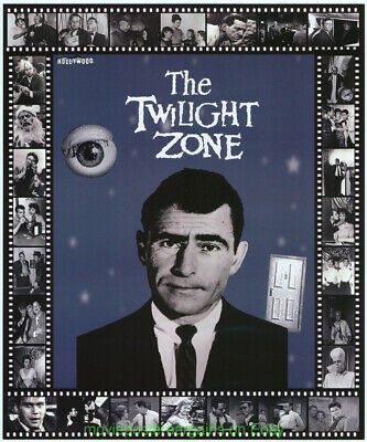 The Twilight Zone 50TH Ann. Hollywood Show Affiche Promotionnelle Canne Serling