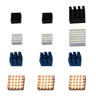 Patterns Heat sinks Computer Cooling Fin Aluminum+Copper Parts Accessories