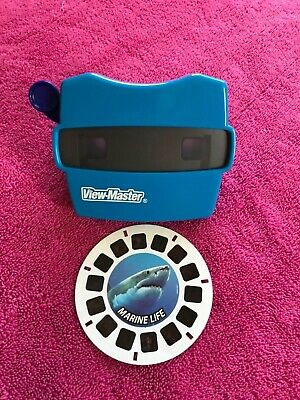View-Master / ViewMaster 3D Reel Viewer Color Blue By Mattel, 2014