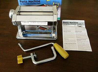 AMACO Pasta Machine For Polymer Clays and Soft Metal Sheets - NEW (Unused)