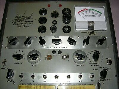Hickok model 532 Tube Tester with New Meter - Refurbished and Calibrated