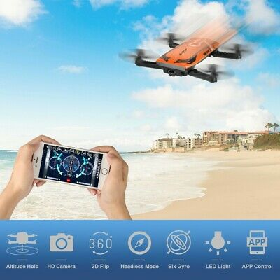 Helifar H818 6 Axis Gyro RC Quadcopter 720P Camera 3D Flip App Control RC Drone