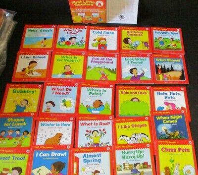 First Little Readers Learning To Read Book Lot Children's Book Lot