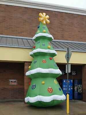 Gemmy 20' Colossal Christmas Tree Airblown Christmas Inflatable