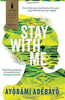 Stay With Me, Adebayo, Ayobami, Good Condition Book, ISBN 9781782119609