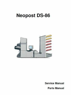 Service Repair Manual for Neopost DS86 Hasler M8000 Formax FD6602