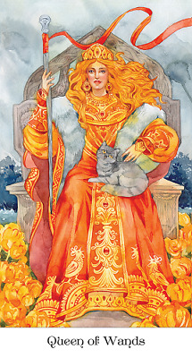 Tarot of the Golden Wheel, Brand New, Sealed, Inspired by Russian Fairy Tales