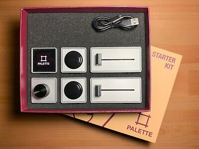 Palette Aluminum Control Surface Starter Kit + Slider Add-on