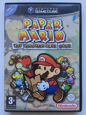 Nintendo GameCube : PAPER MARIO : THE THOUSAND YEAR OLD DOOR - Box ONLY!!