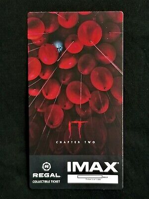 It Movie Chapter 2 IMAX Regal Collectible Ticket ! 5 Out Of 1,000 !
