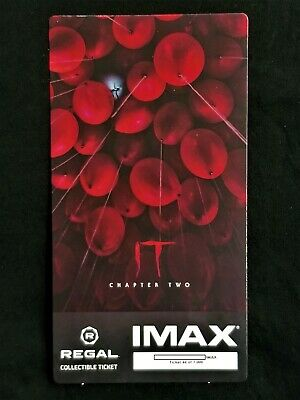 It Movie Chapter 2 IMAX Regal Collectible Ticket ! 44 Out Of 1,000 !