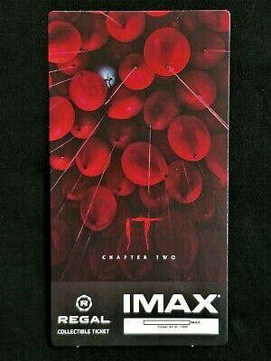 It Movie Chapter 2 IMAX Regal Collectible Ticket ! 42 Out Of 1,000 !