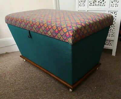 Antique Professionally Upholstered Chest