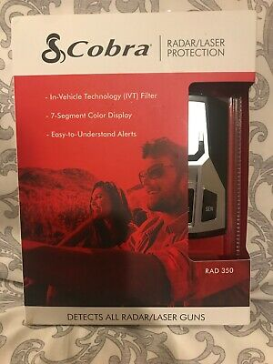Cobra Electronics Rad 350 Radar and Laser Detector