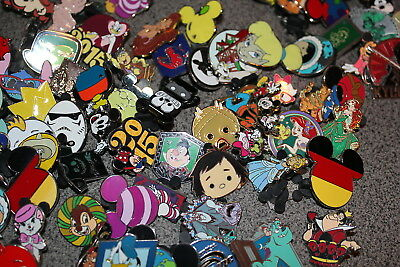 Disney Trading Pin Lot Of 10 Pins No Duplicates No Doubles