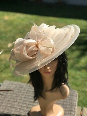 Peter Bettley Vanilla Champagne  Wedding Hatinator Hat Mother Of The Bride