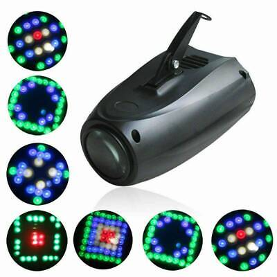Music Active RGB LED Lights Laser Stage Effect Lighting Club Disco Party Bar/