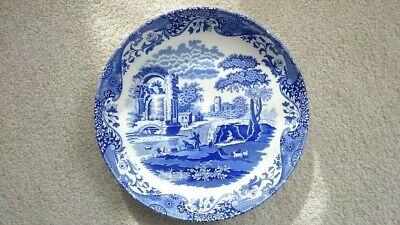 Spode Blue Italian LARGE Pasta Dish Bowl *Brand New* 12 Inch Portmeirion BOXED