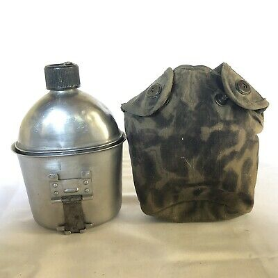 Us Army Wwii 1945 Swanson Canteen With 1944 Foley Mfg Cup, Olive Drab Cover