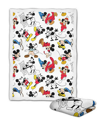 Mickey Mouse Clear Crowded Blanket ( KIDS / MEDIUM / LARGE )