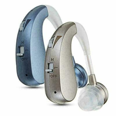 Digital Hearing-Aid Rechargeable Voice Amplifier Adjustable Behind Ear Soun R2H5