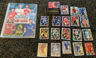 Match Attax Bundle - Job Lot Of Cards - Collecter Binder - 100 Club - And More!!