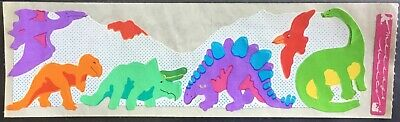 Vintage Stickers - Cardesign - Message Units - Dinosaurs - Dated 1982