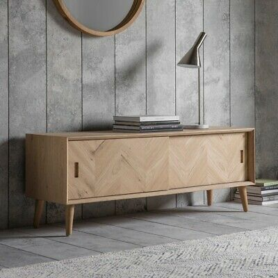 Frank Hudson Gallery Direct Milano TV Oak Media Unit