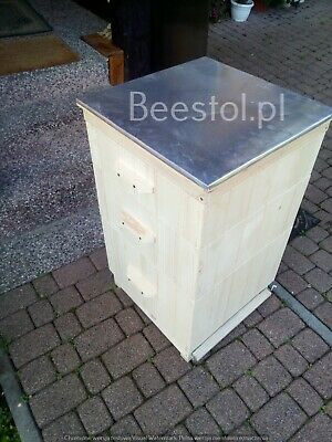National Bee Hive Bee Keeping  2 Super 1 Brood Beekeeping Beehive hygenic bottom