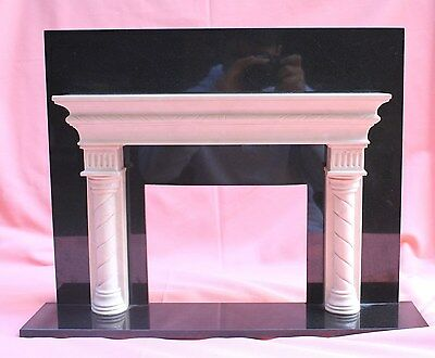 Magnificent French Art Deco Fireplace Marbel Miniature (Must See)
