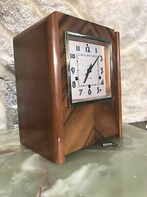 Rare Vintage Antique Usa Seth Thomas Striking 8 Day Clock,3 Spring & Pendulum.