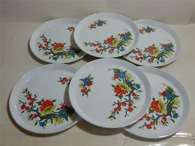 Barker brothers Ironstone Royal Tudor Ware Blossom Tree retro 6 x side plates