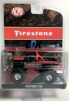 GREENLIGHT / ACME 51272 Firestone 1974 Ford F-250 Monster Truck Diecast 1:64