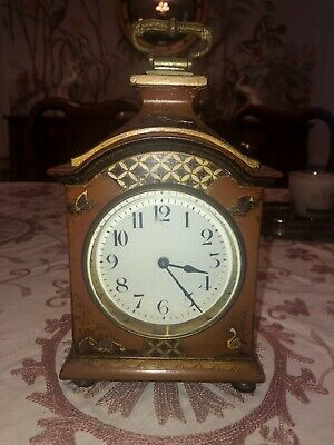 Antique 19th Century Japy Freres French Desk Bracket Clock In Working Condition