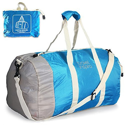 Foldable Duffel Travel Duffle Bag Collapsible Packable Lightweight Sport Gym 60L
