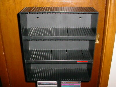 LASERLINE CD 90 Compact Disc Wall Mountable Rack (Stand Alone Option Also)
