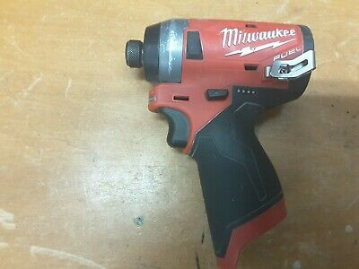 "Milwaukee 2553-20 M12 FUEL 12V Brushless 1/4"" HEX Cordless Impact Driver"