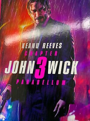 John Wick: Chapter 3 - Parabellum, 2019 (Blu-Ray + DVD) Keanu Reeves