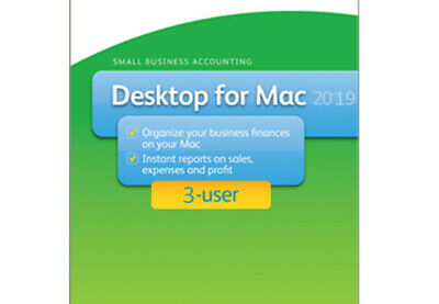 3 user QuickBooks Mac 2019 [MAC DOWNLOAD] - 100% genuine - read our reviews!