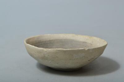 T4168: Japanese Old Seto-ware TEA BOWL Yama chawan Tea Ceremony