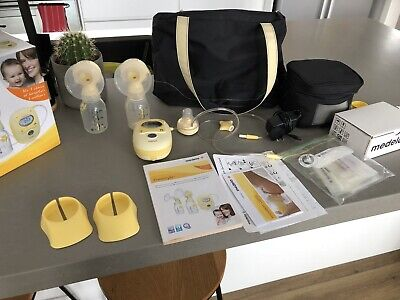 Medela Freestyle Double Electric Pump PLUS EXTRAS. Just like NEW!