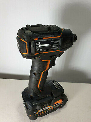 AEG 18v Brushless 3 Speed Impact Driver + 6Ah - Limited Edition